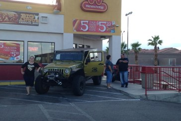 Rock Your Rig event, Vegas FJ Crusiers and Desert Wranglers