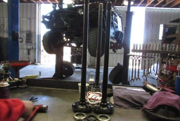 Installed some Ten Factory Hardened axles in the DNA Jeep.
