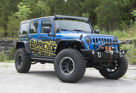 WIN this Supercharged 2015 Jeep Wrangler Rubicon at ExtremeTerrain.com!